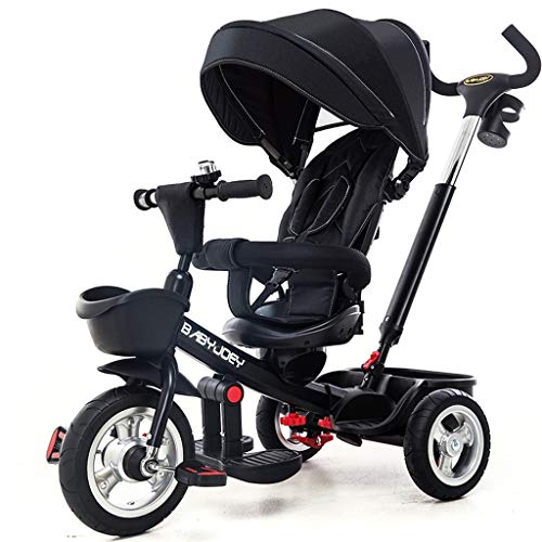 Why Should You Buy Moolo Kids Tricycle, Buggy Children Baby Ride On 3 Wheels Ride Pedal Trolley Safe...