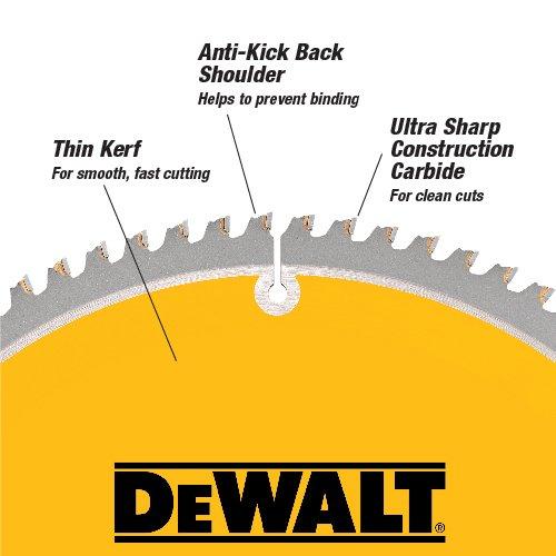 Lame pour Scie Circulaire de 12po DEWALT - Modèle DW3128 - 1
