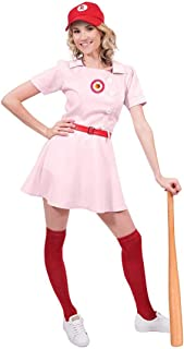 Rockford Peaches Women's Costume Baseball Uniform
