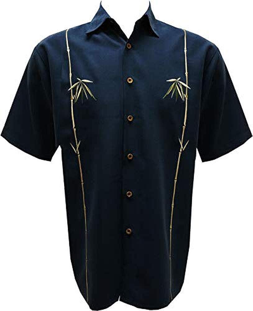 1 year warranty Bamboo Cay Bird of Paradise Black Sale item Style Tropical Backgroun Shirt
