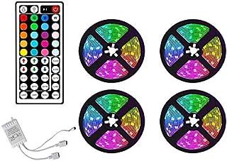 Haudang 20 m RGB LED-strip lichten kleur verandering van muziek synchronisatie kleur voor decoratie thuis party strip verl...
