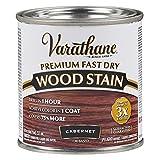 Varathane 262035 Premium Fast Dry Wood Stain, Half Pint, Cabernet