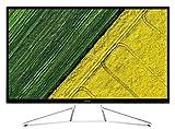 Acer ET322QK LED Display 80 cm (31.5') 4K Ultra HD Plana Negro, Blanco - Monitor (80 cm (31.5'), 3840 x 2160 Pixeles, 4K Ultra HD, LED, 4 ms, Negro, Blanco)