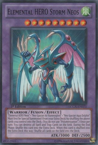 YU-GI-OH! - Elemental Hero Storm Neos (LCGX-EN073) - Legendary Collection 2 - Unlimited Edition - Common