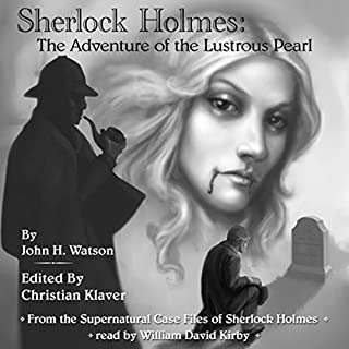 Sherlock Holmes and The Adventure of the Lustrous Pearl cover art