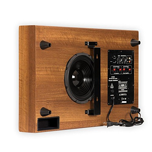 Theater Solutions SUB8SM Slim Subwoofer (Mahogany)