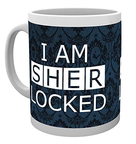 GB Eye Sherlocked Dark Sherlock Becher, Mehrfarbig