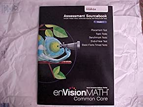 eVision Math Common Core Grade 4 Assessment Sourcebook realize Edition