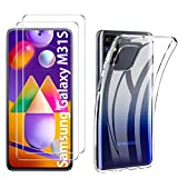 iBetter for Samsung Galaxy M31s Case with Screen