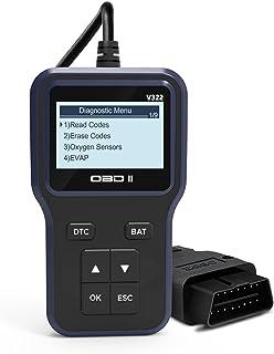 Sangmei Automobile Fault Diagnostic Instrument Upgraded Universal OBD II Car Scanner Car Engine Fault Code Reader Multi-fu...