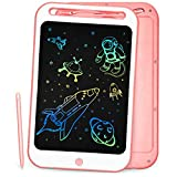 Richgv LCD Writing Tablet 10 Inches Colorful Electronic Writing & Drawing Doodle Board with Memory Lock Digital Writing Pad for Kids and Adults at Home, School, Office