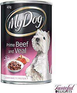 MY DOG Beef and Veal Dog Wet Food 400g