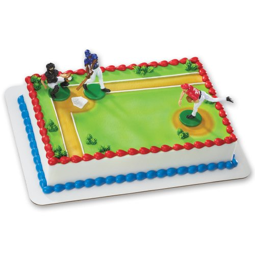 Price comparison product image Baseball-Batter Up DecoSet Cake Decoration
