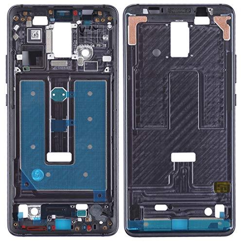 jingtingmy Fijar Las Piezas del teléfono renovar Placa de Bisel de Marco de LCD Frontal for Accesorio Huawei Mate 10 Pro (Color : Black)