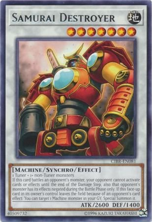 Samurai Destroyer - CIBR-EN081 - Rare - Unlimited Edition - Circuit Break (Unlimited Edition)