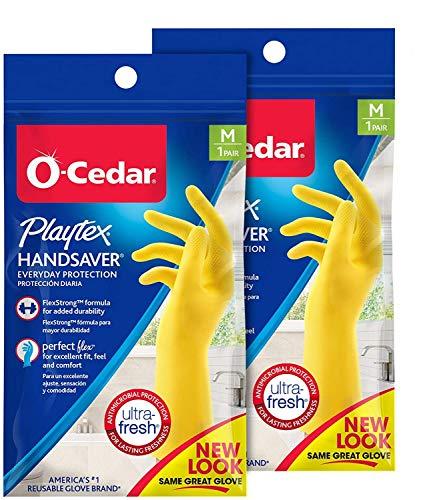 Playtex Handsaver Reusable Rubber Gloves Medium Pack 2 Buy Online In Burkina Faso At Burkinafaso Desertcart Com Productid 4485780