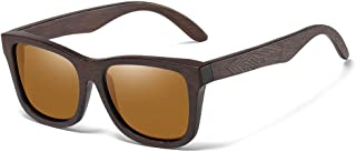 WEIJINGBEI نظارات شمسية مصنوعة من الخيزران والخشب