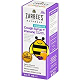 Zarbee's Naturals Children's Complete Daytime Cough Syrup* + Immune, Berry Flavor, 4 Ounce Bottle