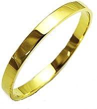 プレゼント K18 リング ファランジリング ミディリング ゴールド 2mm幅 YG(18金イエローゴールド) WG(18金ホワイトゴールド) PG(18金ピンクゴールド) 職人 手作り 極細 リング オーダー (21, イエローゴールド)