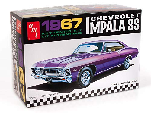 AMT 1967 Chevy Impala SS (Stock) 1:25 Scale Model...