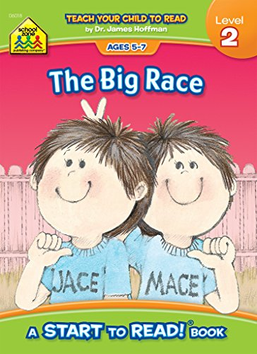School Zone - The Big Race, Start to Read!® Book Level 2 - Ages 5 to 7, Rhyming, Early Reading, Vocabulary, Simple Sentence Structure, and More (School Zone Start to Read!® Book Series)