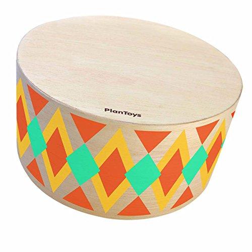 Plantoys- Cajón percusión, instrumento de juguete (6423)