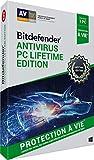 Bitdefender Antivirus|2019 Lifetime Edition|1 appareil|Protection à vie|PC|Téléchargement