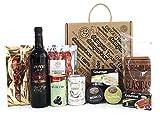 Geschenkbox mit Mallorquinischem Wein, detapasbox Mallorca. Geschenkset Mallorcafans mit Wein aus...