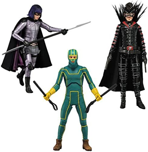 venta con descuento Neca Kick Ass Ass Ass 2 - Series 1 - 7 Action Figures - Set of 3 by Kick Ass  marca de lujo
