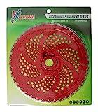 Kawapower KW00540 Disco cuchilla de Widia con 40 puntas para desbrozadora