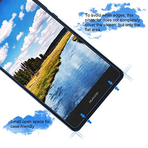 CRXOOX 3 Stück Panzerglasfolie für Huawei P9 Lite Panzerglas Schutzfolie HD Klar Anti-Kratzen, Anti-Fingerabdruck Blasenfrei Einfache Installation Displayschutzfolie Folie für P9 Lite - 4