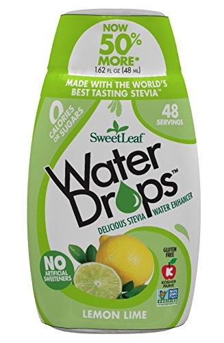SweetLeaf WaterDrops, Lemon Lime, 1.62 Ounce