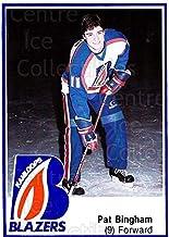 (CI) Pat Bingham Hockey Card 1988-89 Kamloops Blazers 6 Pat Bingham