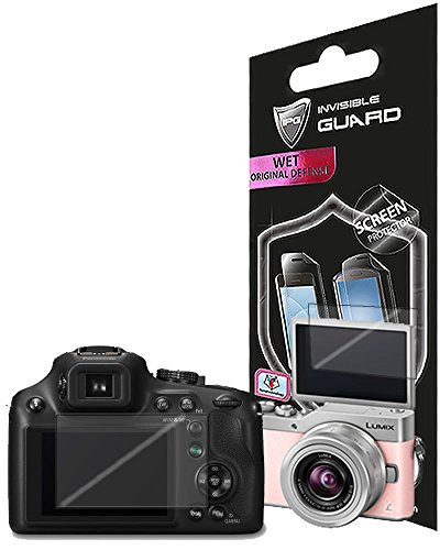 for PANASONIC LUMIX DC-ZS70 - GX850 - GX800 (2 Units) Screen Protector Skin Lifetime Replacement Warranty Invisible...