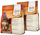 UltraCruz Equine Vitamin B-1 Horse Supplement Pellet Bundle, 2 x 2.5 lb (40 Day Supply) Each