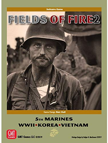 """Solitaire Game Fields of Fire Vol. II: with The Old Breed"""", 5th Marines in WW2, Korea, Vietnam"""