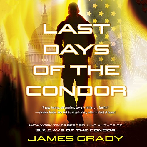 Last Days of the Condor audiobook cover art