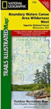 Trails Illustrated Map Boundary Waters, West, Superior National Forest
