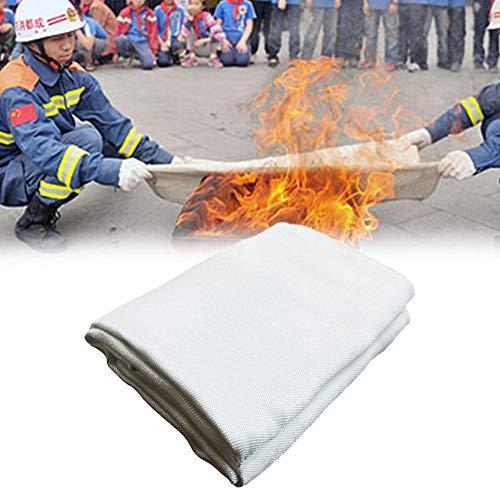 Vlamvertragende plaat van glasvezel, vuurvast en warmtebestendig, kan worden gebruikt voor houten pannen. Wit.