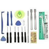 zhangxia Electronics Repair Kits 18 en 1 Kit de Herramientas de reparación de teléfonos for teléfonos móviles
