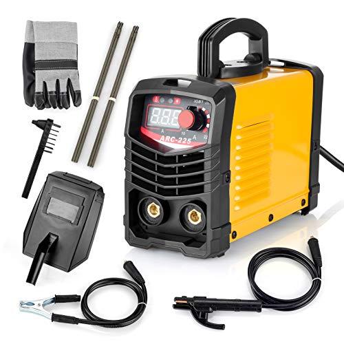 Welding Machine,TEWLEN ARC MMA 225Amp Welder IGBT Digital Electric Welding Machine Kit, Portable 110V Inverter Welder...