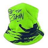 TUCBOA Neck Sweatband,DAR-E To Zl-At-An Magic Headband, Soft Neck Gaiter Balaclavas for Athletic Gym,26x30cm