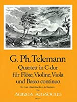 TELEMANN - Cuarteto en Do Mayor (TWV:43/c1) (Partitura/Partes)
