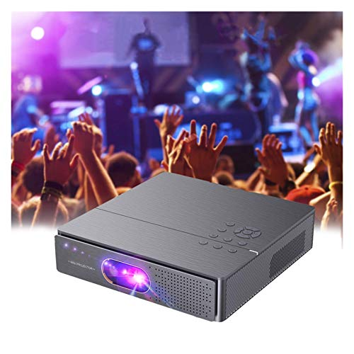 Proyector WiFi 1080P, 4000 Lúmenes Proyector WiFi Full HD 1920×1080P Soporta 4K Audio AC3 Proyector Cine En Casa LED 50,000 Horas para Teléfonos,iPad,Fire TV Stick,PS4,PC HDMI USB VGA AV