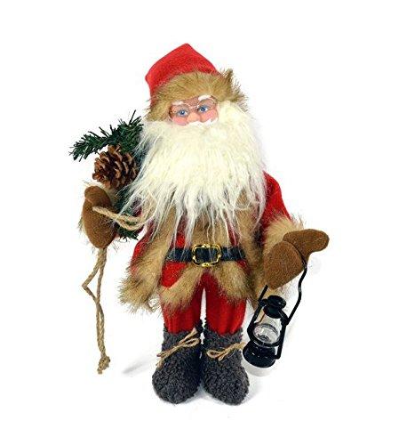 2Esse Babbo Natale pupazzo animato con suono e movimento da 40 cm