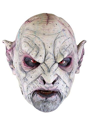 Orkmaske Herrenmaske Halloween LARP Cosplay Orkgesicht aus Latex Faschingskostüm