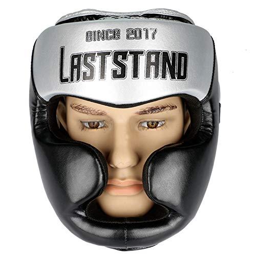 ZHXQ Boxhelm-Schutz,Sparring Head Guard Kopfschutz,für Sparring beim Boxen Muay Thai Kickboxen Fighting & Training,Männer & Frauen Kampfsport,Fitnessgerät,Taekwondo
