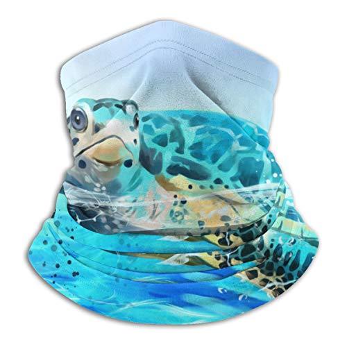Hipiyoled Winter Scarf Deep Turtle (14) Unisex Mens Ladies Super Soft Collo SCALPINO Gaiter Cappello per Sci, Escursioni