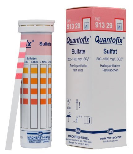 Macherey-Nagel, 91329, Quantofix Sulfate, Box Of 100 Strips