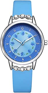 Hemobllo Kids Quartz Watch Students Analog Watch Waterproof Time Teacher Wrist Watches for Kids Children School Use (Rosy)